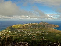 Statia from the Quill
