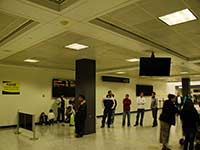 International arrivals at Dulles