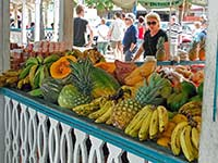 Fruits for sale at Marigot