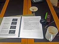 Coffee, glasses & Instruction manual