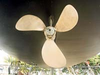 Shiny propeller