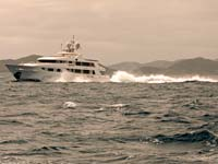 Seaquest at 20 knots