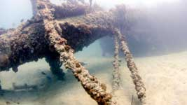 Andes wreck in Deep Bay