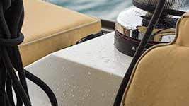 Raindrops on the Winch