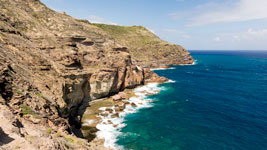 Cliffsides on Antigua