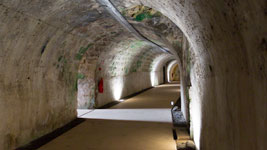 Fort Fleur d'epee underground passages