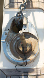 Windlass base repair