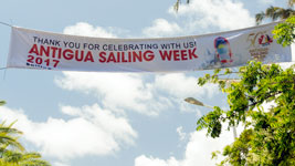 Antigua Sailing Week Banner