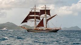 Square Rigged Ship