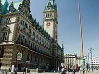 Hamburg Rathaus (city hall)