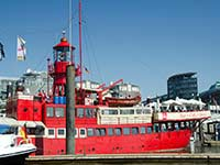 Lightship LV13 in Hamburg