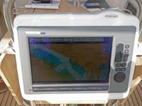 Outside chartplotter