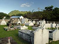 Statia Dutch cemetary